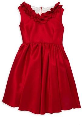 Helena And Harry Little Girl's & Girl's Bow Back Taffeta Dress