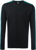 Paul Smith contrast stripe T-shirt - men - Organic Cotton - S