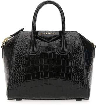 Givenchy Mini Antigona Crocodile Effect Bag