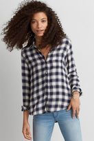 American Eagle Outfitters AE Ahh-mazingly Soft Boyfriend Plaid Shirt