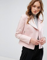 Helene Berman Pastel Biker Jacket
