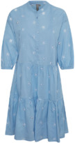 Culture Blue Broderie Anglaise Cunala Dress - XS