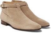 Saint Laurent - Suede Jodhpur Boots