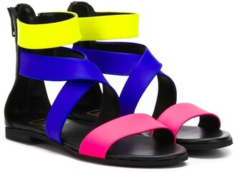 Gallucci Kids strappy flat sandals
