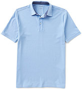 Roundtree & Yorke Trim-Fit Short-Sleeve Solid Pique Polo