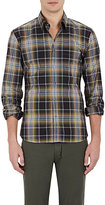 Tomas Maier MEN'S PLAID BUTTON-DOWN SHIRT