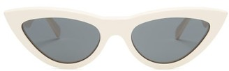 Celine Cat-eye Acetate Sunglasses - Dark Brown