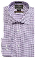 Black Brown 1826 Checked Dress Shirt