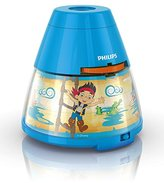 Disney Philips Jake Children's Night Light and Projector (1 x 0.1 W Integrated LED)