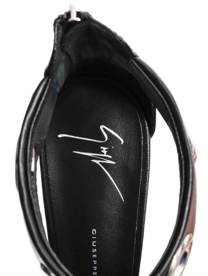 Giuseppe Zanotti Rivet-embellished high-heel sandals