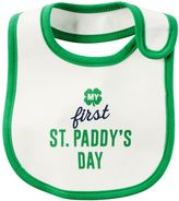 "Carter's Baby My First St. Paddy's Day"" Graphic Bib"