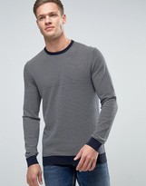 Benetton Sweater With Stripe In 100% Cotton