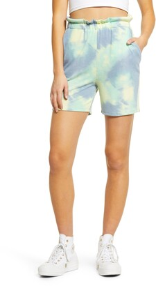 ALL IN FAVOR French Terry Tie Dye Shorts
