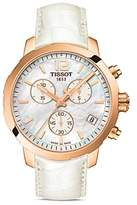 Tissot Quickster Women's Quartz Watch with Mother of Pearl Dial, 42mm