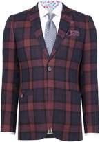 Ted Baker Men's Boxval Linen Check Blazer