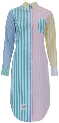 Thom Browne Logo Shirt Dress