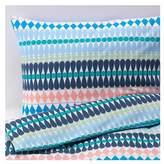 Ikea Mossflox Queen Duvet Cover and Pillowcases, Multicolor