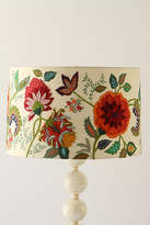 Anthropologie Needlework Garden Lamp Shade