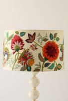 Anthropologie Needlework Garden Lampshade