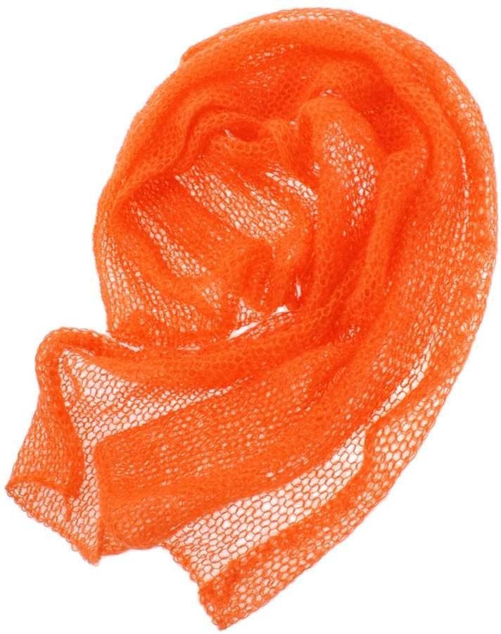 MagiDeal Newborn Baby Strech Mohair Crochet Knit Wrap Photo Props Blanket Cloth Backdrop