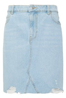 Dorothy Perkins Womens Dp Tall Blue Denim Mini Skirt, Blue