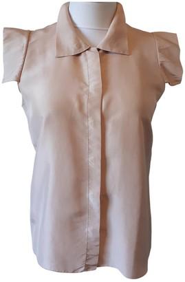 Jil Sander Pink Silk Tops