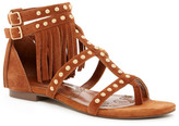 Australia Luxe Collective Maxine Studded Fringe Sandal