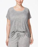 Alfani Plus Size Raglan-Sleeve Pajama T-Shirt, Only at Macy's