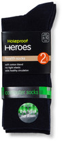 Holeproof Heroes Health Computer 2 pack Socks