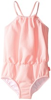 Seafolly Cute D'Azure Blouson Tank One-Piece Girl's Swimsuits One Piece