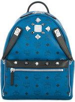 MCM big studs backpack - unisex - Leather - One Size