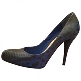 Christian Dior Blue Exotic leathers Heels