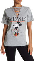 Freeze Minnie Graphic Lace-Up Tee