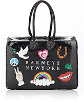 Studio Job XO Barneys New York Studio Job Love Peace Joy Shopping Bag Ornament-BLACK, NO COLOR