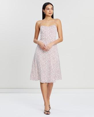 Atmos & Here Saskia Tie Strap Dress