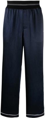 Helmut Lang Satin Pyjama-Style Trousers