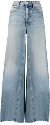 Mother Enchanter high-rise wide-leg jeans