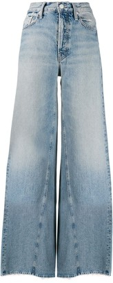 Mother Enchanter high-rise wide-leg jeans
