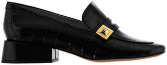 Mulberry Slip On Low Heel Loafers