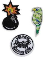 Variations Three-Piece Parrot Patch Set