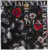 McQ by Alexander McQueen floral print scarf