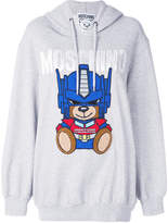 Moschino Transformer bear oversized hoodie
