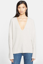 Helmut Lang Cashmere & Wool Blend V-Neck Sweater