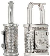 Vivienne Westwood Darianne Padlock Earrings Earring