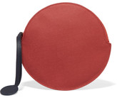 Roksanda Circle Textured-leather Pouch - one size