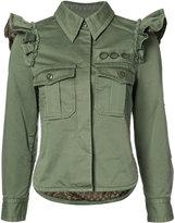 Marc Jacobs ruffled-shoulder jacket