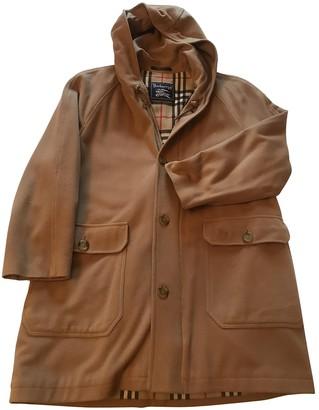 Burberry Camel Wool Coats