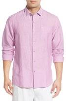 Tommy Bahama 'Islander' Linen & Cotton Sport Shirt (Big & Tall)