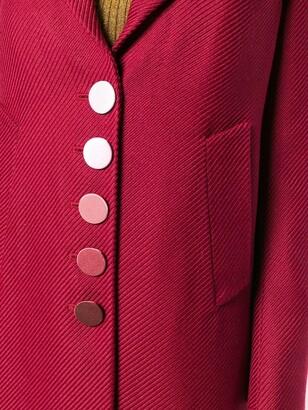 Marco De Vincenzo Supertwill single breasted coat