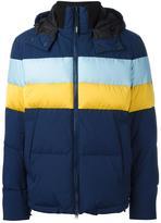 Kenzo 'Stripes' padded jacket